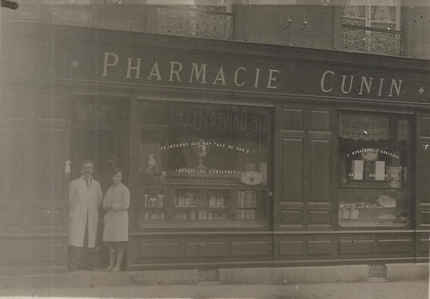 Pharmacie vendue dans les Vosges