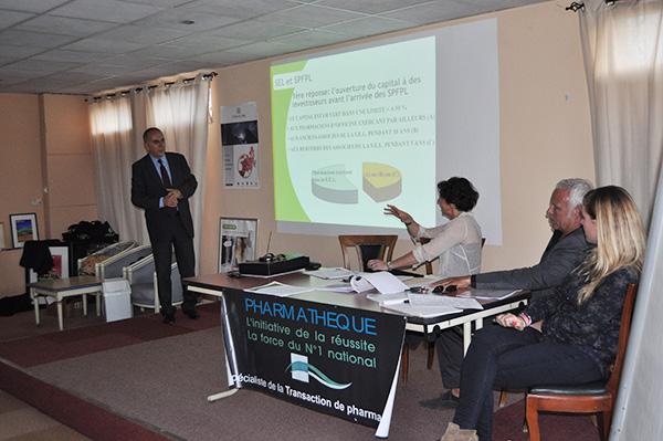 Conférence sur les Holdings de Pharmacie à Avignon