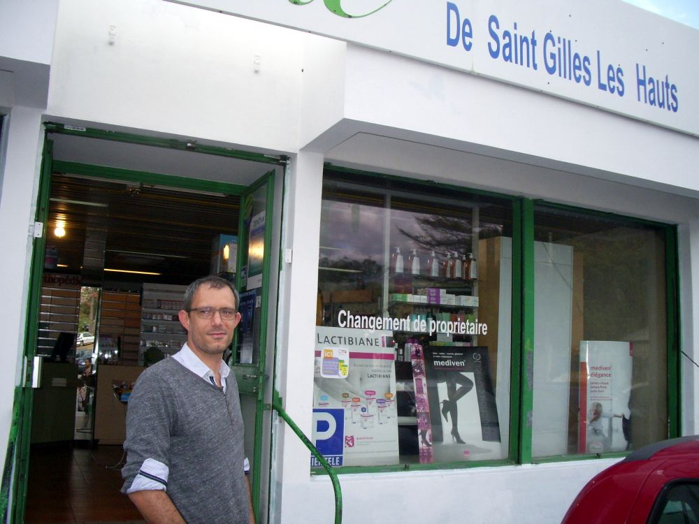 Pharmacie vendue St Gilles les Hauts-Payet