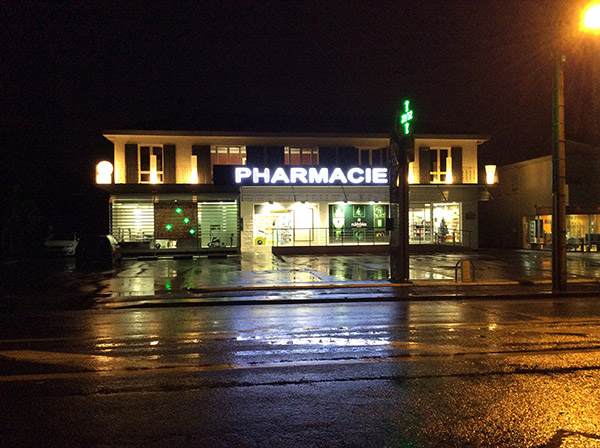Pharmacie vendue CHABOT-Bordeaux