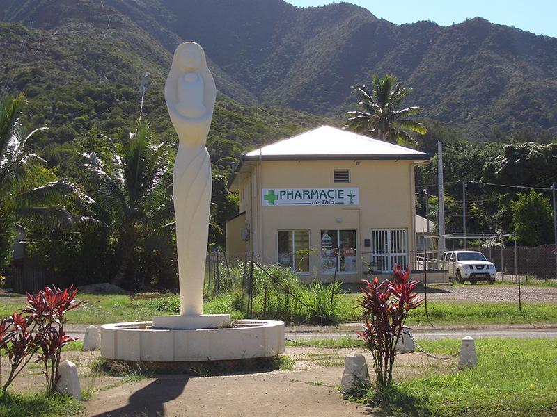Pharmacie vendue en Nouvelle Calédonie