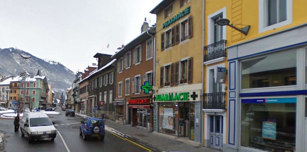 Pharmacie vendue à Bonne ville en Haute Savoie