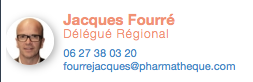 Jacques Fourré, Délégué Régional PHARMATHEQUE MIDI PYRÉNÉES