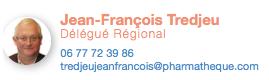 Jean-François Tredjeu, Délégué Régional PHARMATHEQUE RHONE-ALPES