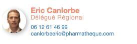 Eric Canlorbe, pharmatheque