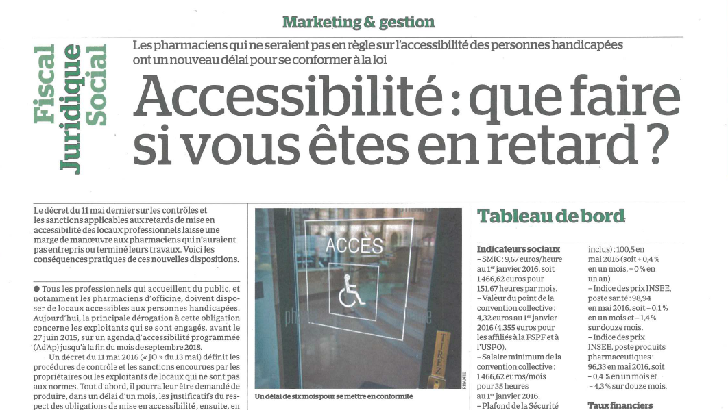 accessibilite pharmacies