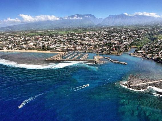Ville de Saint-Pierre à la Réunion