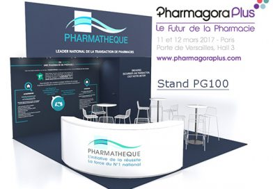 Pharmagora 2018, Retrouvez nous au Stand J110