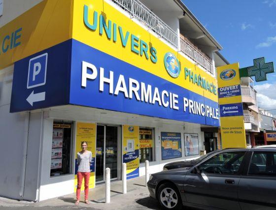 Officine à Saint-Pierre, Ile de la Réunion