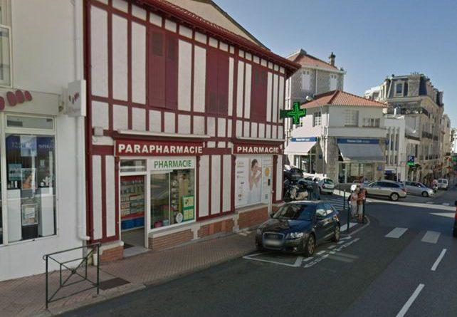 Selas Pharmacie de la Gare du Midi à Biarritz, Pays Basque
