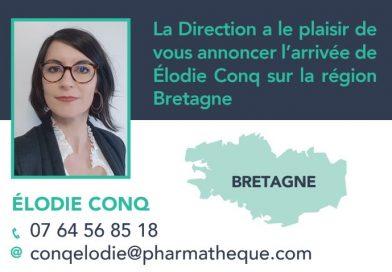 Elodie Conq : Nouvelle Déléguée Régionale Pharmathèque en Bretagne