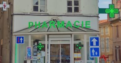 Regroupement de Pharmacies vendues en Ardèche, en région Auvergne-Rhône-Alpes.